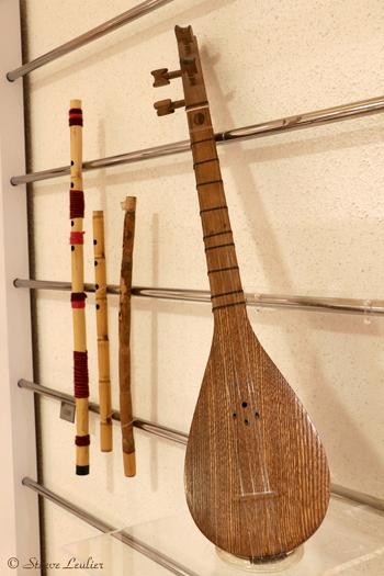 Musée de la musique : les instruments régionaux, Tamboureh, Ispahan