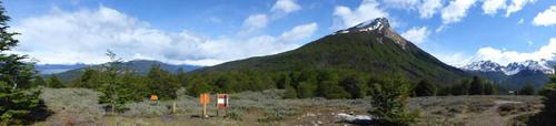 en quittant Ushuaia