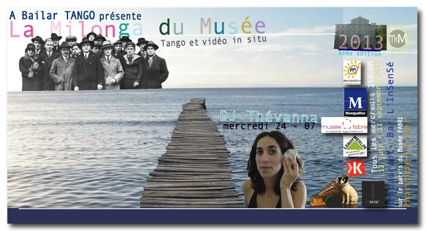 DJ THEVANNA mercredi 24-07 à La Milonga du Musée