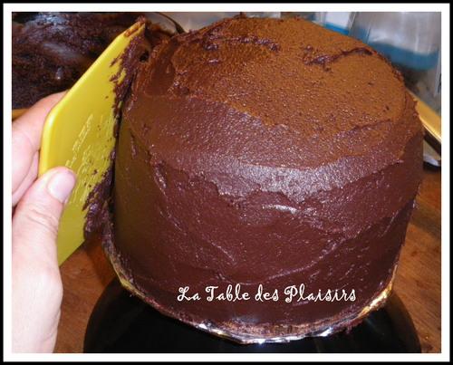 SPONGE CAKE AU CHOCOLAT pour une Reine des Neiges