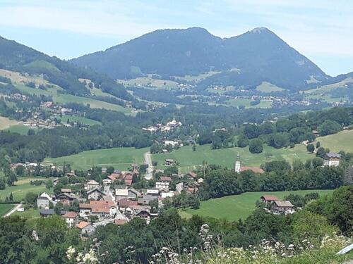 Le Mont Forchat et la Vallée Verte