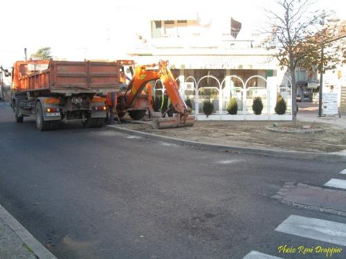 Les travaux dans la ville vus par René Drappier...