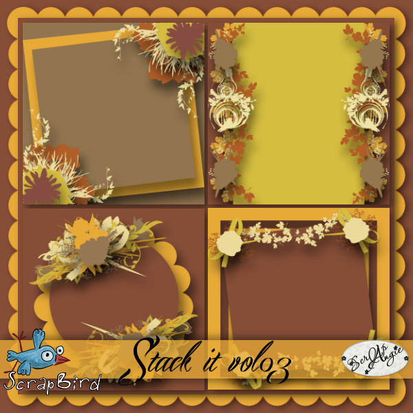 New pack templates by Scrap'Angie