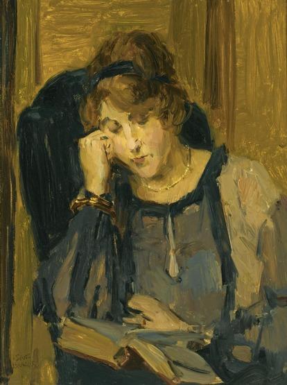 3-Femmes lisant-Peintures 20eme jusqu'à aujourd'hui