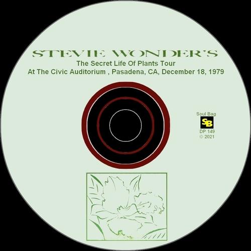 "Stevie Wonder : Album "" The Secret Life Of Plants Tour At The Civic Auditorium , Pasadena, CA, 12-18-1979 "" SB Records [ FR ]"