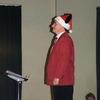 "Pascal très concentré avant de diriger ""Jingle Bells"""