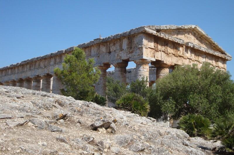 Le temple dorique de Ségeste