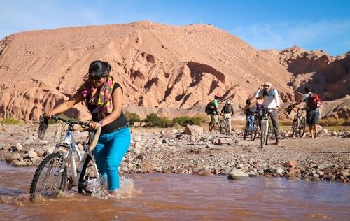 San Pedro de Atacama: à bicyclette