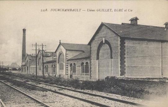 Auxerre Usines Guillet