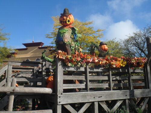 C'est Halloween à Disneyland