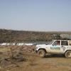 Mali Au bord des chutes de Gouina