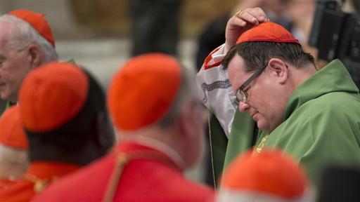 Une délégation québécoise célèbre la messe avec le pape François