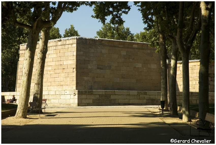 Madrid - Temple d'Amon (Debod) 3