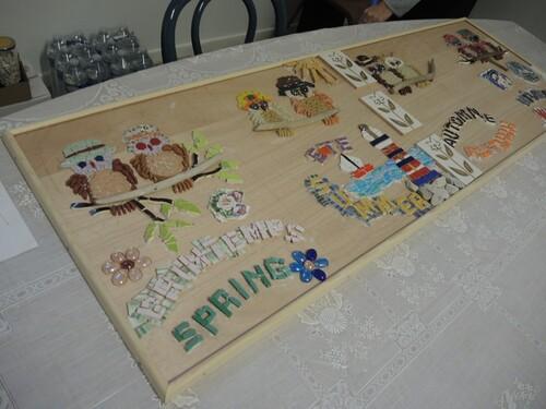 Ecole du petit fils- Fresque en mosaïque-SUITE