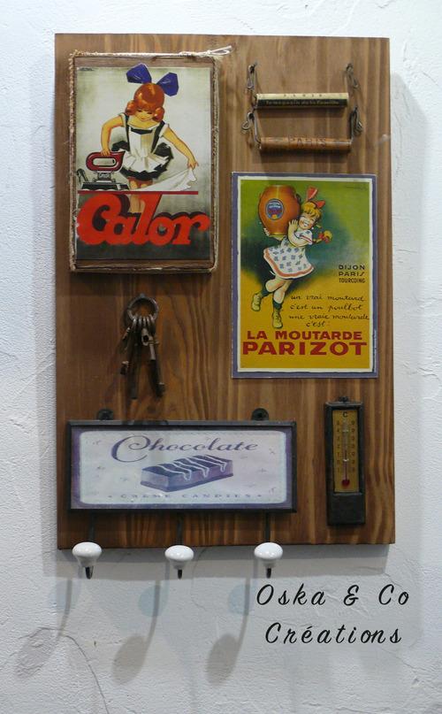 DIY tableau vintage en relief en 1 heure