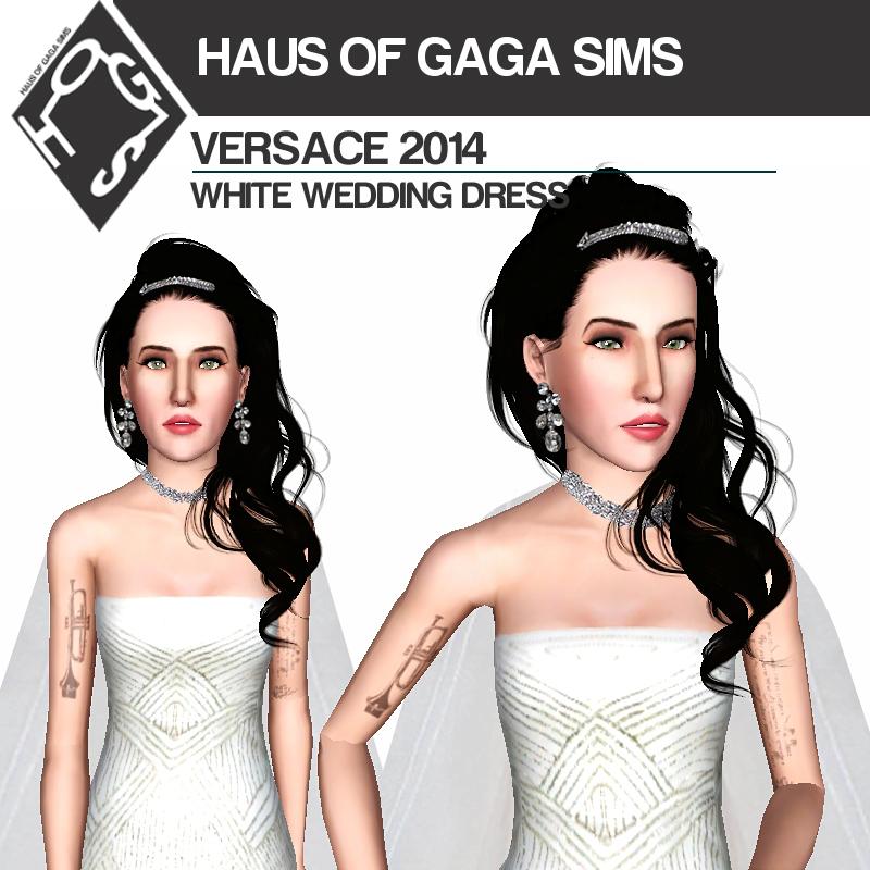 VERSACE 2014 WEDDING DRESS