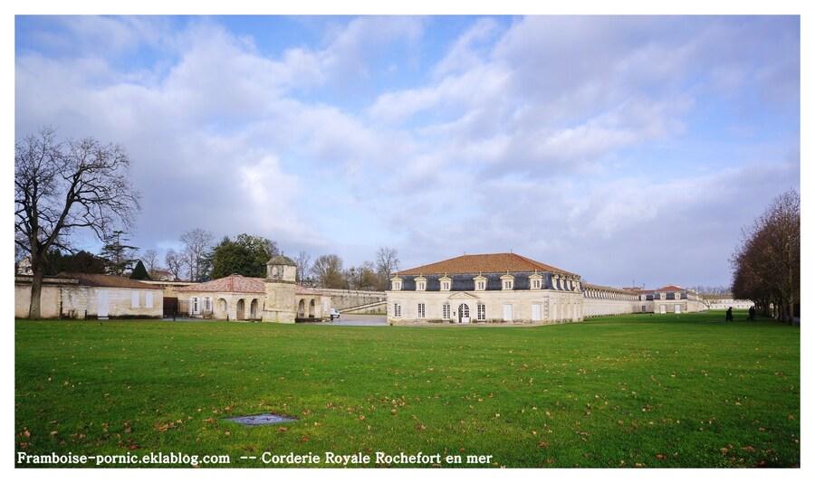 Rochefort La corderie Royale l'Hermione et le Musée de la Marine