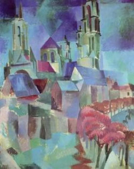 Robert Delaunay, Les Tours de Laon, 1910