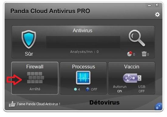 Panda Cloud antivirus Pro 2.3.0 - Licence 6 mois gratuits