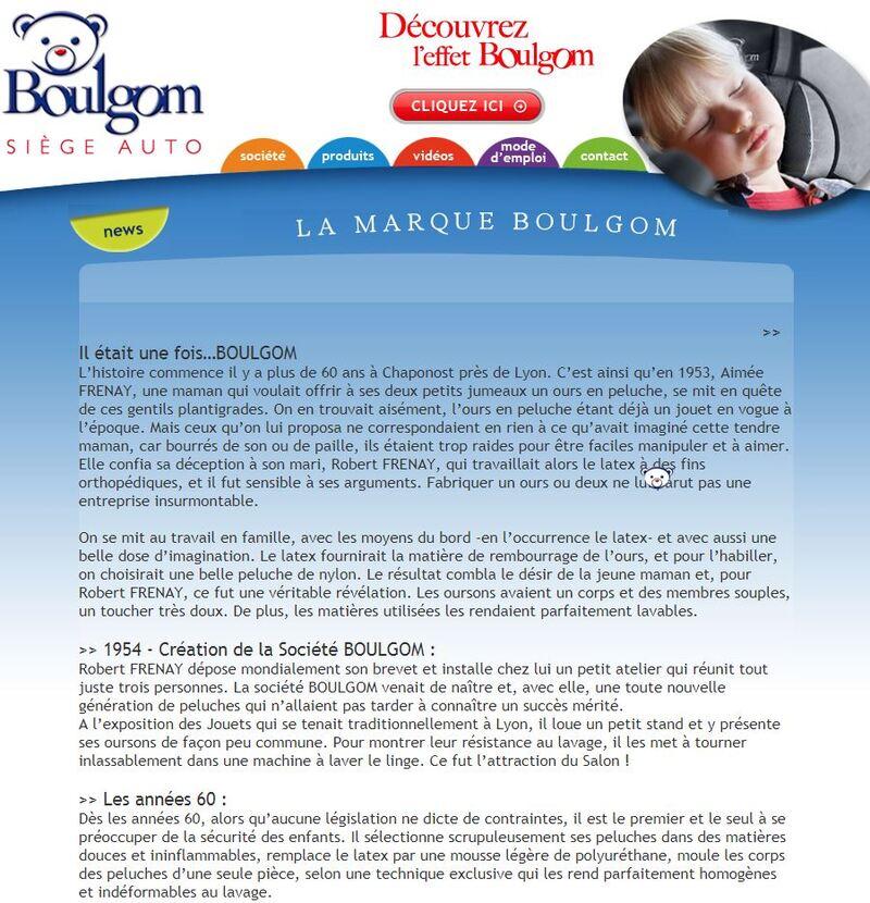 """Boulgom """"Ours Baby"""""""