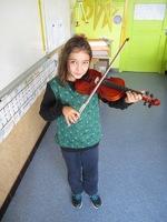 Concert de violon d'Agathe