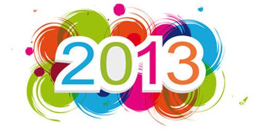 Bilan de l'année 2013