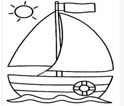 """* Bricolage de rentrée: """"tous à bord"""""""