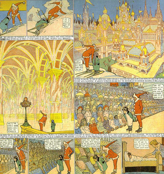 Little Nemo in Slumberland, Windsor Mc Cay, 1905.