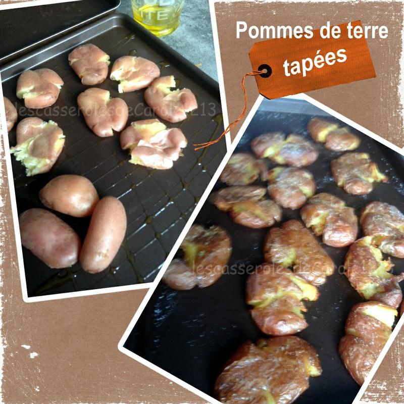 pommes de terre tapées (SCRAP)