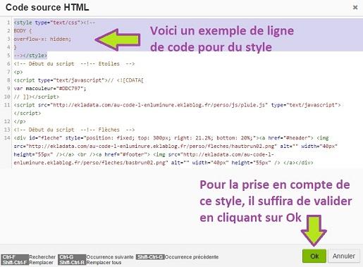 Ajouter du css via un module simple