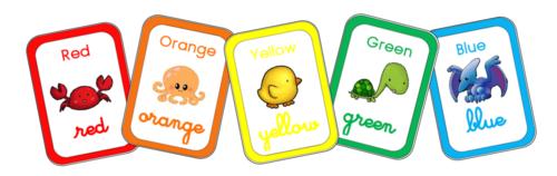 Affichage des couleurs et des nombres : Edit