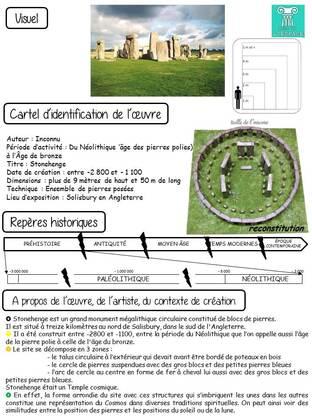 Dictée des arts : Alignements de Stonehenge