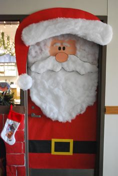 Porte de classe pour noel ou l 39 hiver ma classe et moi - Decoration de noel pour porte ...