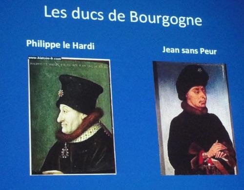 La Bourgogne et les îles britanniques