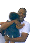 Beyonce & Jay-Z: Cuddles for Baby Blue Ivy!