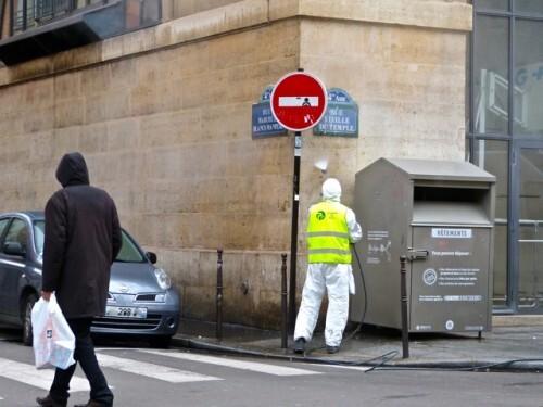 street-art Beaubourg nettoyeur 80712
