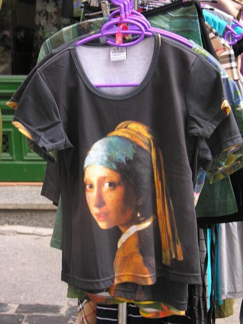 Vermeer au coin de la rue....