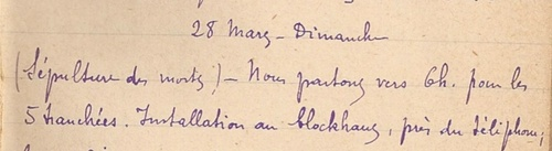 07* 1915 Mars - Maixe DeuxVille Le Sânon