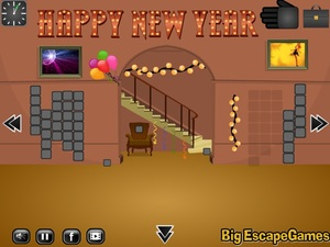 Jouer à Vintage day new year escape 5