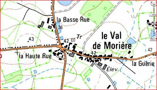 L'abbaye du Val de Morière....