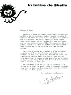 JOURNAL N°25 décembre 1966