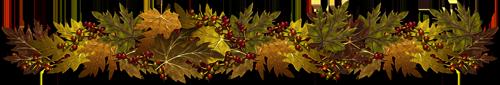 Barre séparation automne