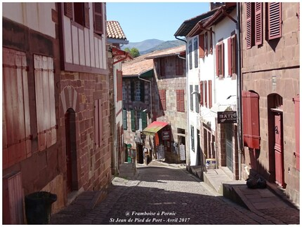 Saint Jean Pied de Port - Pays basque - Avril 2017