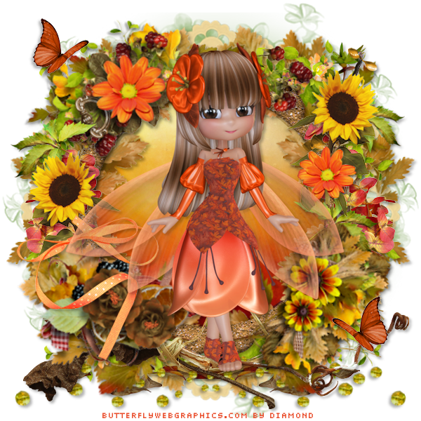 "Tutoriel ""Sweet Fairy"" de Ziscadesign"