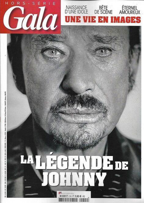GALA n°1H décembre 2017    La légende de Johnny Hallyday