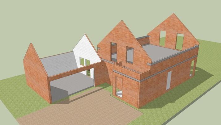 3D - Image De Synthèse Et Maquette - Construction D'Une Maison