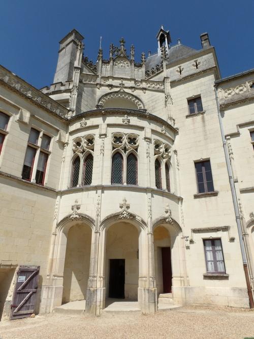 Le château de Brézé ( 1 )