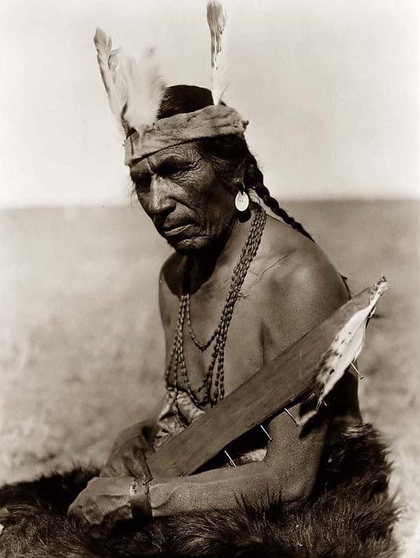 Blackfoot Indian Brave
