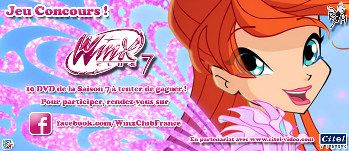 Concours DVD Winx Club Saison 7