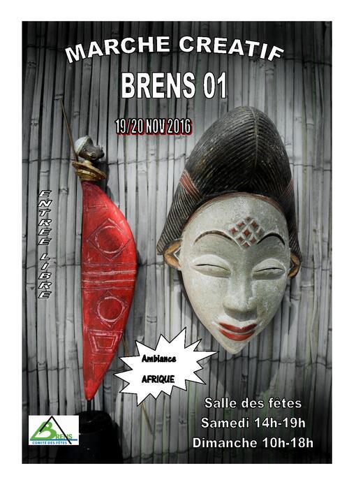 Marché créatif à Brens 2016